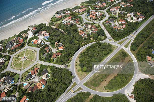 Housing Development by Beach