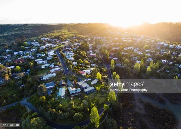 Housing development in Auckland, New Zealand.