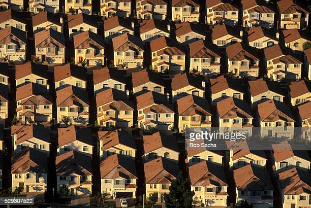 housing development - birthplace of silicon valley stockfoto's en -beelden