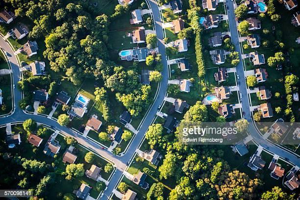 housing development - maryland us state foto e immagini stock