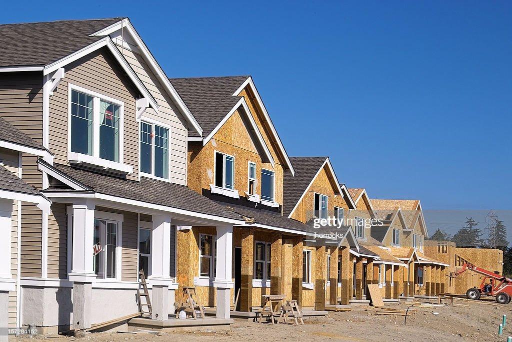 Complesso edilizio in costruzione : Foto stock