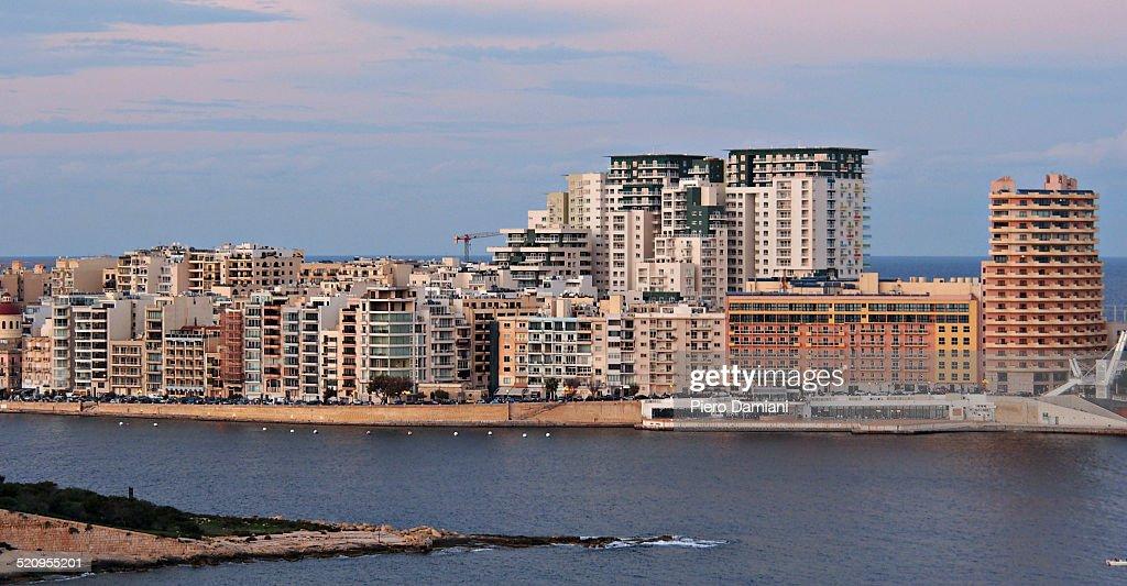 Housing in Malta : Stock Photo
