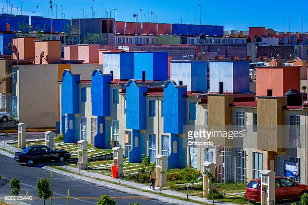 housing in puebla under development - puebla state stock pictures, royalty-free photos & images