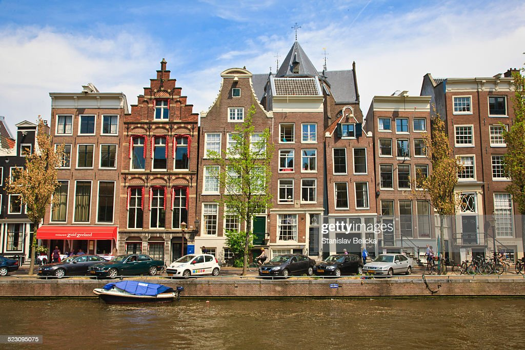 Housing In The Historic City Centre Of Amsterdam Holland ...