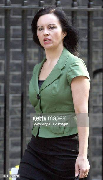 Housing Minister Caroline Flint arrives for a Cabinet Meeting at 10 Downing Street in London
