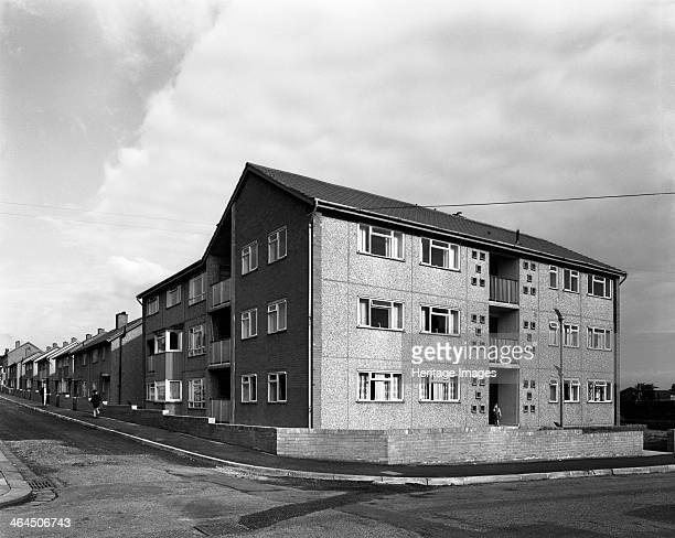 Housing project Mexborough South Yorkshire 1962 This housing development in Kirby Street in the South Yorkshire town of Mexborough is a good example...