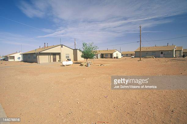 Housing project on Navajo Indian Reservation in Shiprock NM