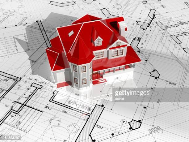 Progetto di architettura modello casa