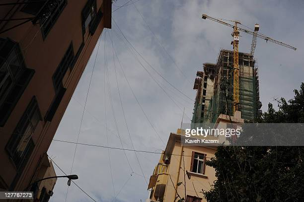 Housing projects in the up-market, predominantly Christian shrafieh neighbourhood of Beirut, Lebanon, 6th March 2010.