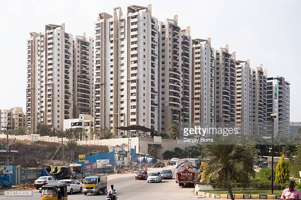 HYDERABAD, INDIA - JANUARY 11,2017 Housing sales dipped 44 percent following demonetisation by Government of India on November 08 according   to a report by Knight Frank India