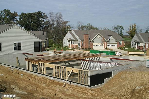 Housing kommt, immer vor Energie sprühe. Untergeschoss. Konstruktion.