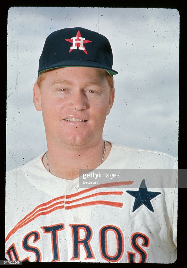 Houston Astros outfielder Rusty Staub.