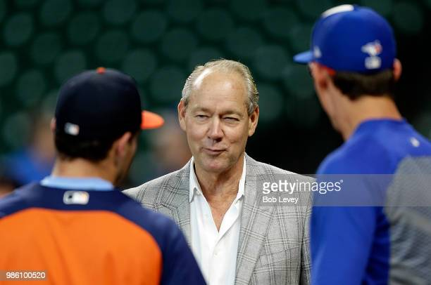 Houston Astros owner Jim Crane at Minute Maid Park on June 25 2018 in Houston Texas