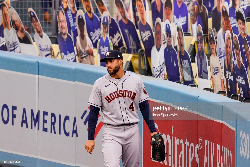 MLB: SEP 13 Astros at Dodgers : News Photo