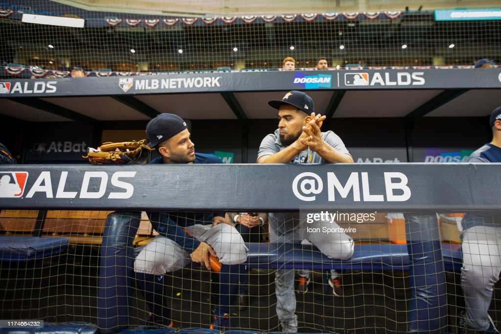 MLB: OCT 08 ALDS - Astros at Rays : News Photo