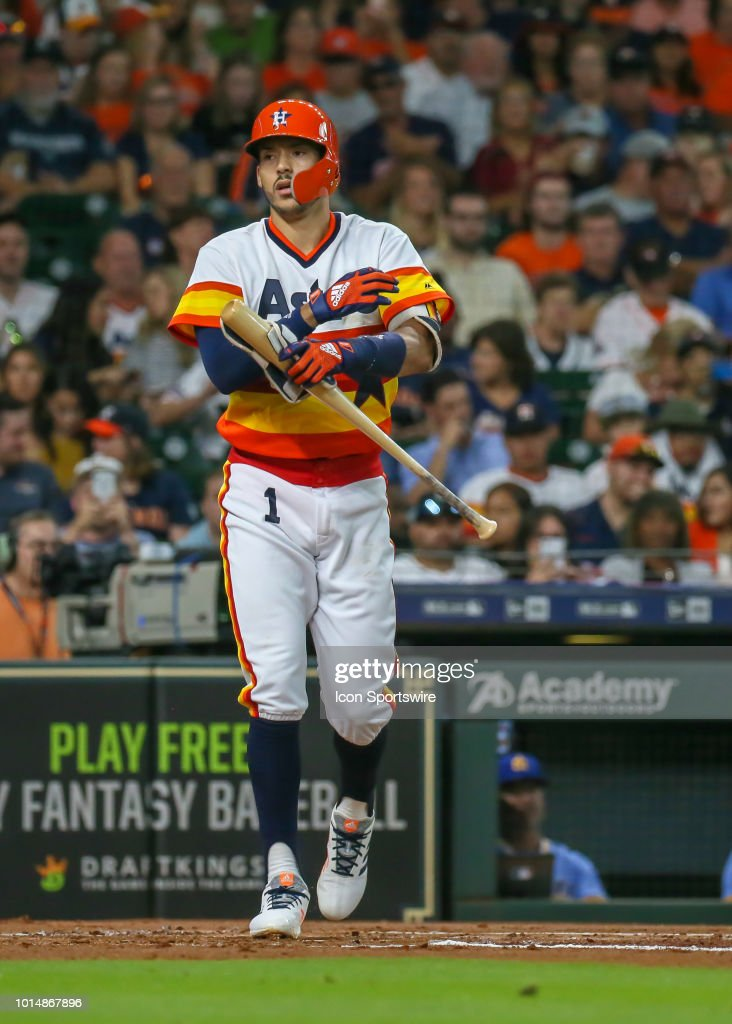 check out 442f3 00917 Houston Astros shortstop Carlos Correa sports a 1970s ...