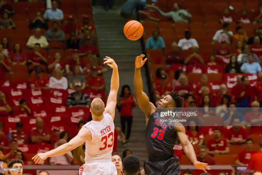 COLLEGE BASKETBALL: FEB 18 SMU at Houston : News Photo