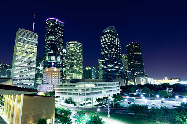 Houston Downtown Wall Art