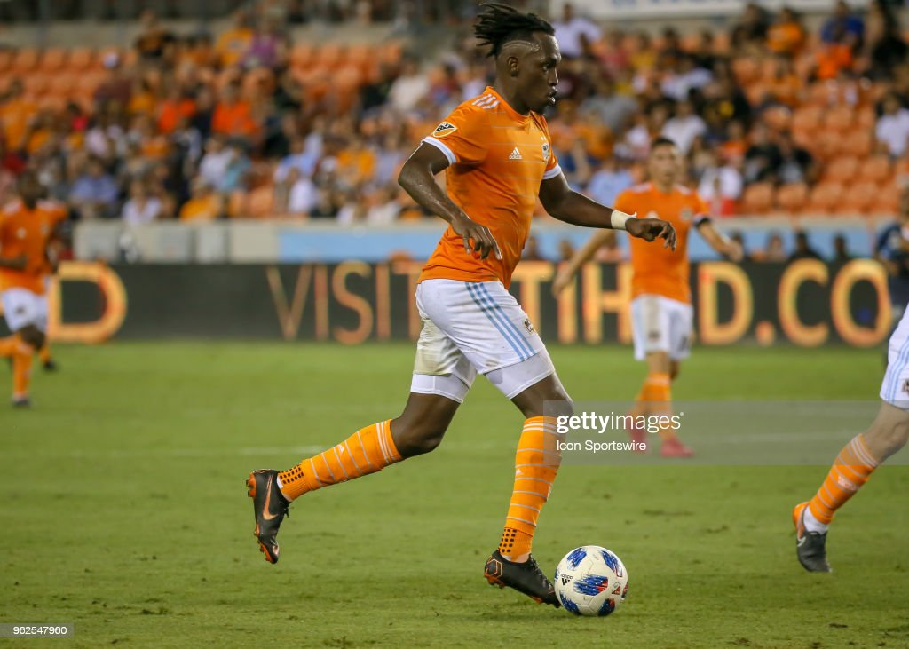 SOCCER: MAY 25 MLS - New York City FC at Houston Dynamo : News Photo