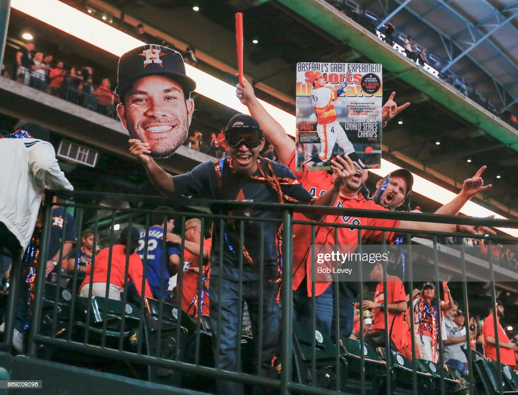 Houston Astros World Series Watch Party : News Photo