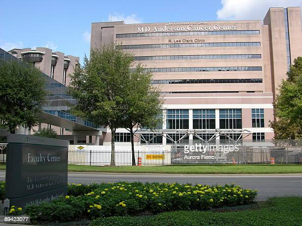Houston MD Anderson Cancer Center The University of Texas M D Anderson's R Lee Clark Clinic the main hospital access point for patients and visitors...