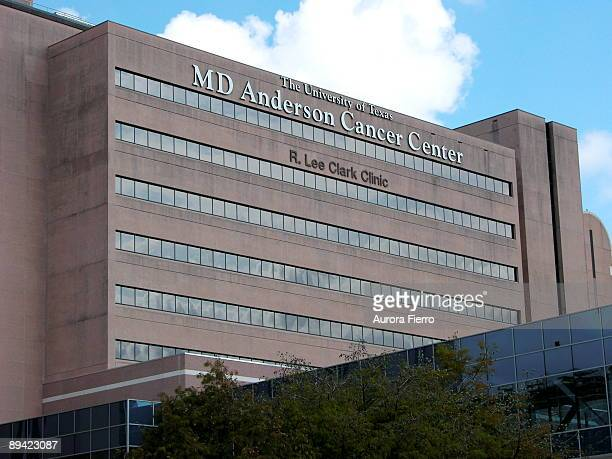 Houston MD Anderson Cancer Center The University of Texas M D Anderson's R Lee Clark Clinic the main hospital access point for patients and...