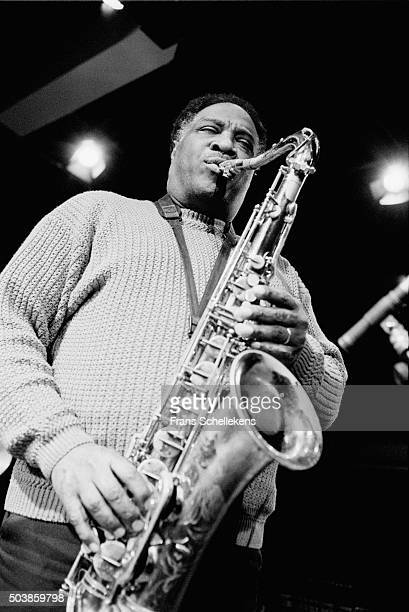 Houston Person, tenor saxophone, performs on January 29th 1998 at the BIM huis in Amsterdam, the Netherlands.