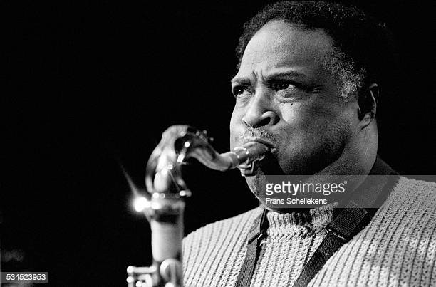 Houston Person, tenor saxophone, performs on January 29th 1998 at the BIM huis in Amsterdam, Netherlands.