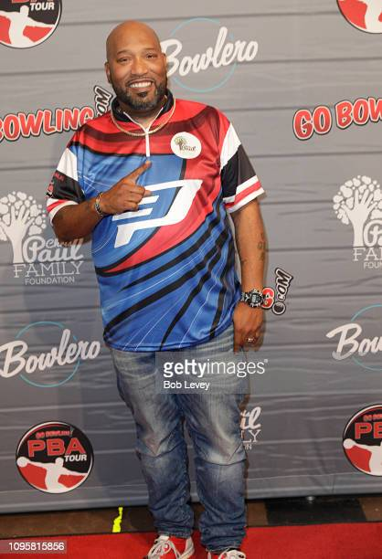 Houston rap artist Bun B on the red carpet during the 2019 State Farm Chris Paul PBA Celebrity Invitational on January 17 2019 in Houston Texas