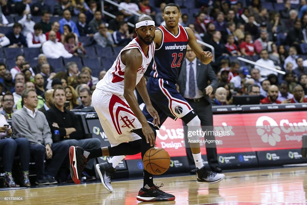 Washington Wizards vs Houston Rockets : News Photo