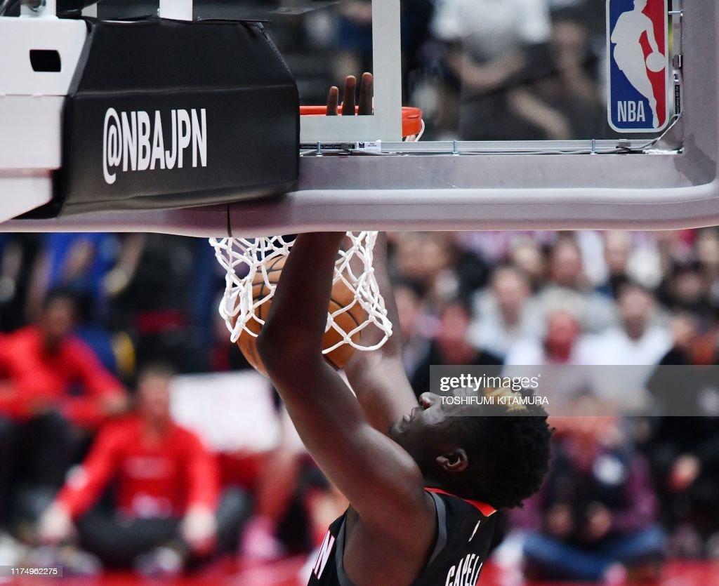 BASKET-NBA-JPN : News Photo