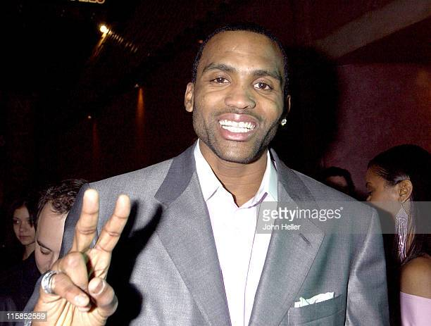 Houston Rockets Forward Cuttino Mobley during Dennis Rodman Hosts NBA All Star After Party at The Forbidden City in Hollywood CA United States