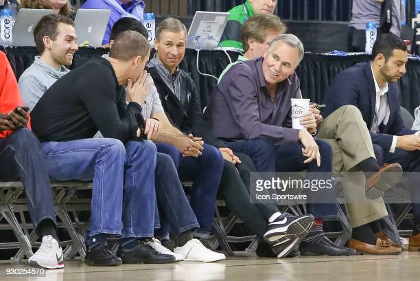 Houston Rockets Head Coach is court side during the Conference USA Basketball Championship game between the Western Kentucky Hilltoppers and Marshall...