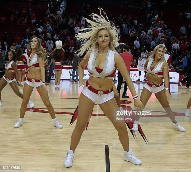Rockets Vs Okc Game 6: Houston Rockets Cheerleaders Stock Photos And Pictures