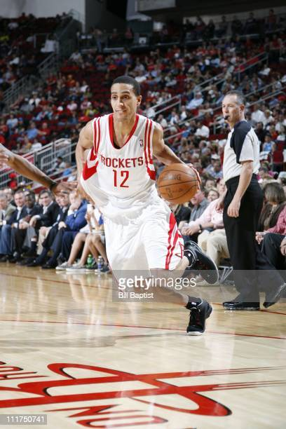 Houston Rockets shooting guard Kevin Martin brings the ball up court during the game against the Sacramento Kings on April 5 2011 at the Toyota...