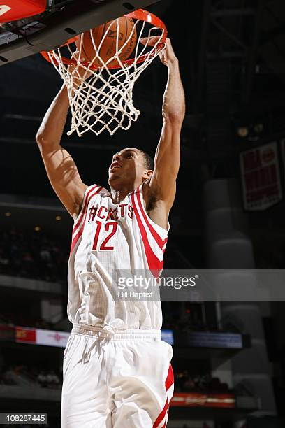 Houston Rockets shooting guard Kevin Martin lays up the ball during the game against the Milwaukee Bucks on January 17 2011 at the Toyota Center in...