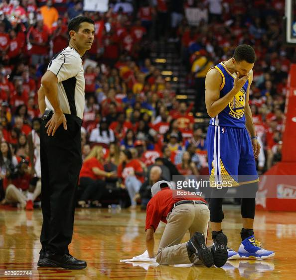 Houston Rockets News Today: A Houston Rockets Team Attendent Wipes The Floor As