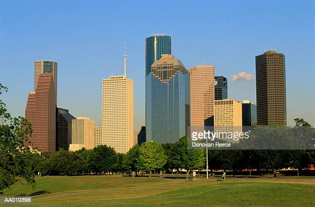 houston skyline - generic location stock pictures, royalty-free photos & images