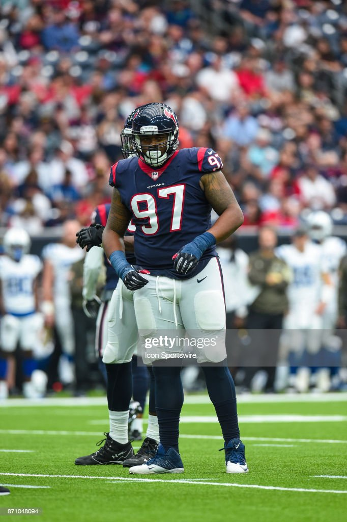 competitive price 5fe83 3d128 Houston Texans defensive tackle Angelo Blackson gets ready ...