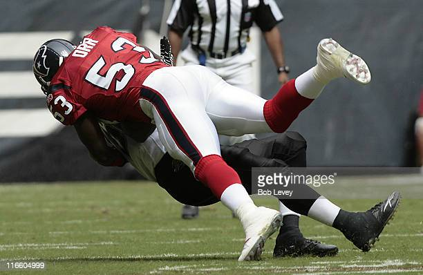 Houston Texans linebacker Shantee Orr puts a hit on Jacksonville Jaguars running back Maurice JonesDrew The Houston Texans defeated the Jacksonville...