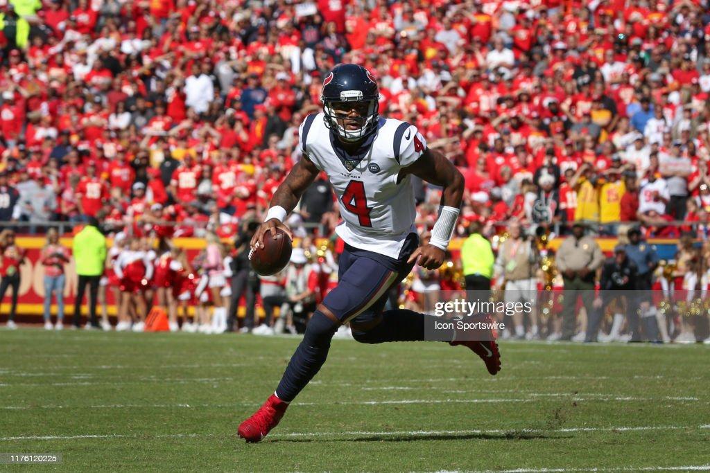 NFL: OCT 13 Texans at Chiefs : News Photo