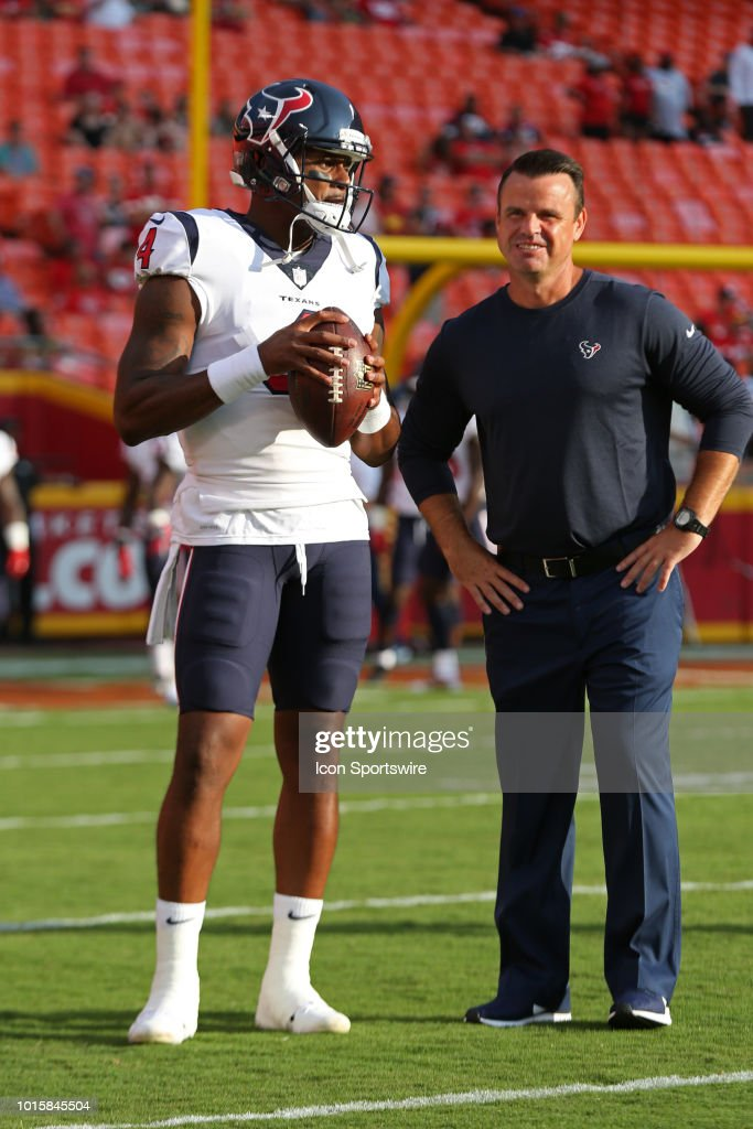 NFL: AUG 09 Preseason - Texans at Chiefs : News Photo