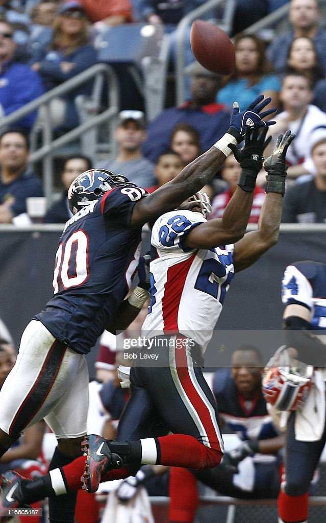 Buffalo Bills vs Houston Texans - November 19, 2006