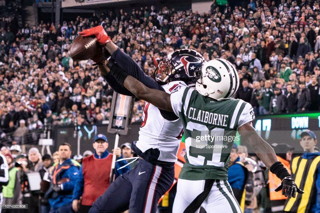 NFL: DEC 15 Texans at Jets : News Photo