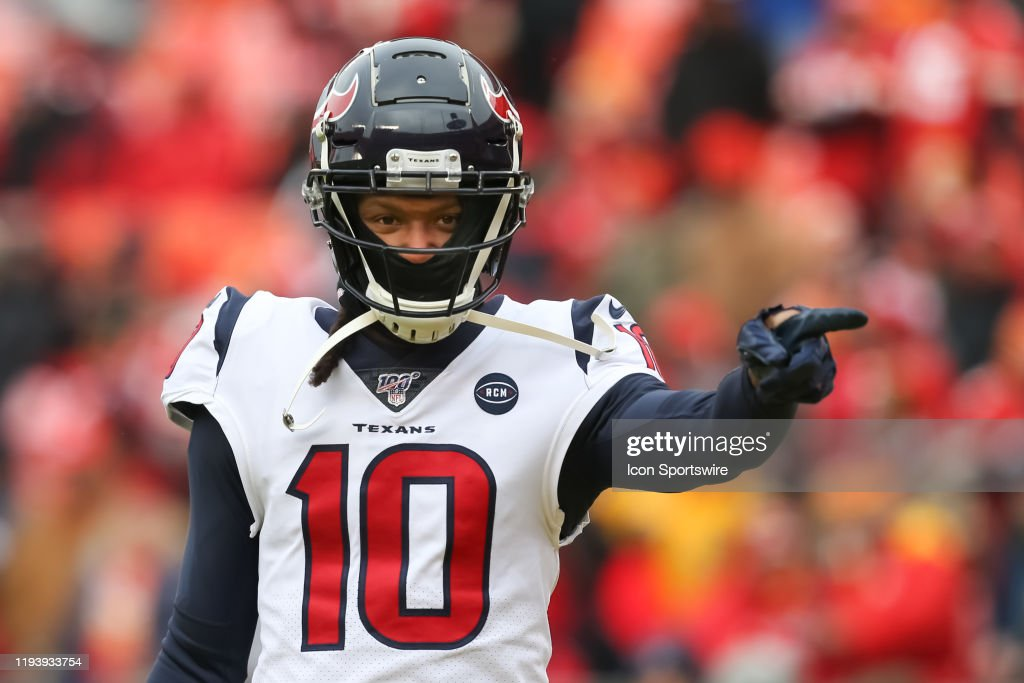 NFL: JAN 12 AFC Divisional Playoff - Texans at Chiefs : News Photo