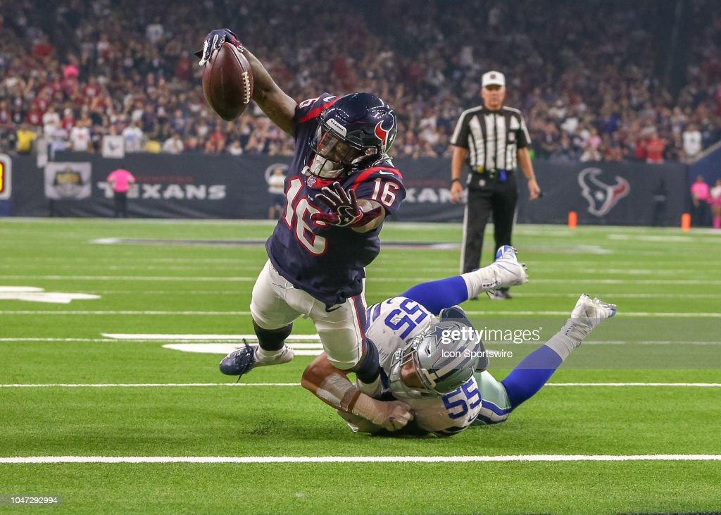 NFL: OCT 07 Cowboys at Texans : News Photo