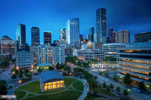 houston, texas - harris county courthouse stock pictures, royalty-free photos & images