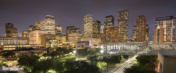 Houston Texas skyline panorama