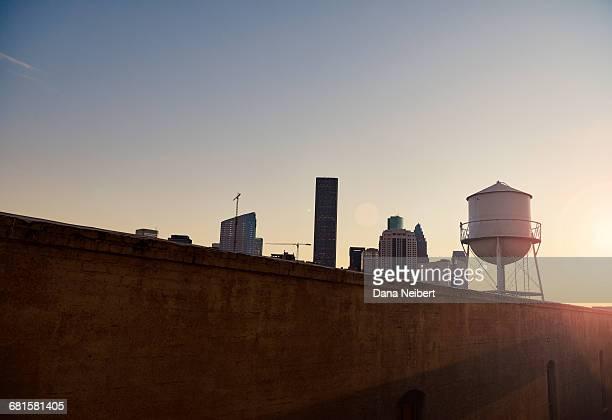 houston, texas skyline. - texas stock pictures, royalty-free photos & images