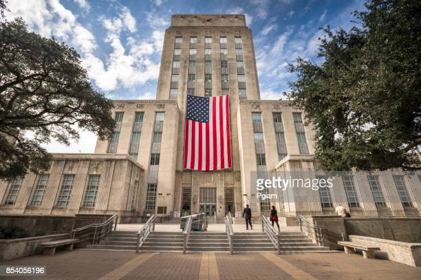 houston texas skyline - government building stock pictures, royalty-free photos & images